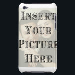 "Custom iPod Touch Case with your Picture<br><div class=""desc"">Custom iPod Touch Case with your Picture</div>"