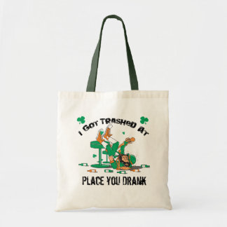 Custom Irish Drinking T-shirts and Gear Canvas Bags
