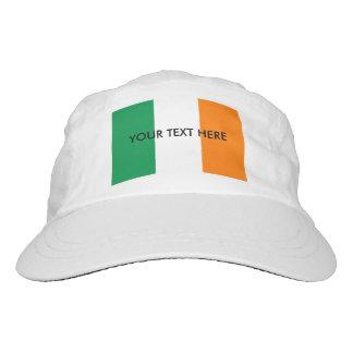 Custom Irish flag knit and woven sports hats Headsweats Hat