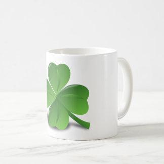 Custom Irish Lucky Shamrock Happy St Patrick Mug