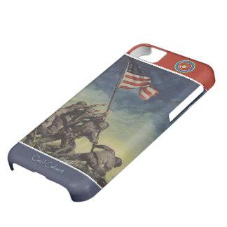 Custom Iwo Jima Flag Marines iPhone Case iPhone 5C Case