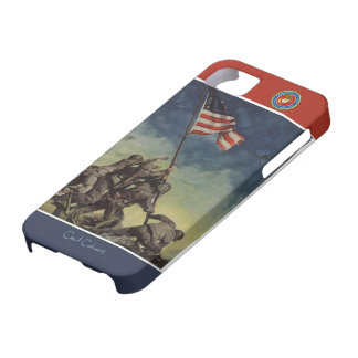 Custom Iwo Jima Flag Marines iPhone Case