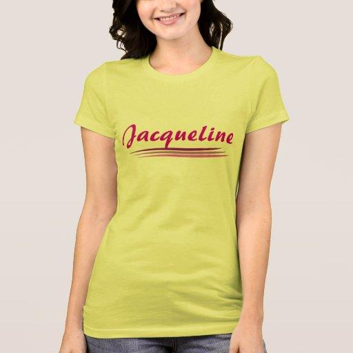 Custom jacqueline t shirt zazzle for Zazzle custom t shirts