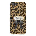 Custom Jaguar Pattern iPhone 5 Case