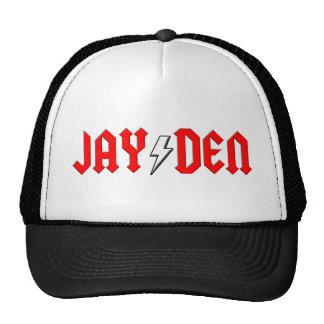 custom JAYDEN rock and roll shirt Hats