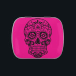 """Custom Jelly Belly  Beans or Mints Candy Tin<br><div class=""""desc"""">Candy tin with sugar skull design.</div>"""
