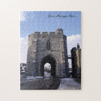 Custom Jigsaw Puzzle - Winter Snow Scene Westgate