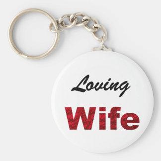 custom  keychain - wife