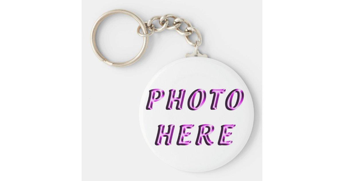 Custom Keychains No Minimum Order   Zazzle com