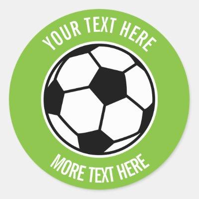 Well Done Boys Blue Football Soccer Sticker
