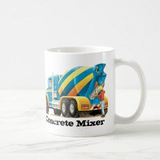 Custom Kids Construction Truck Concrete Mixer Mug