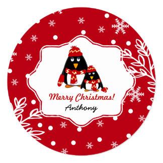 Custom Kid's Name Fun Christmas Cards for kids