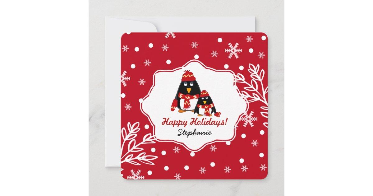 custom kid's name fun christmas cards for kids  zazzle