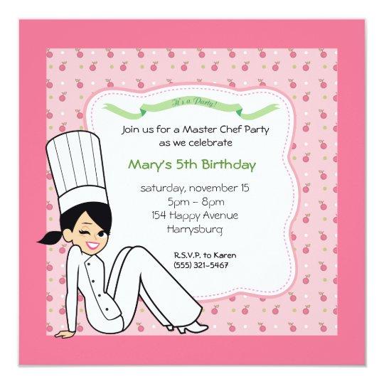 Custom Kids Party Invitation with Unique Artwork