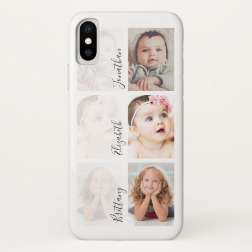 Custom Kids Photo Collage   Upload Your Own Phone Case