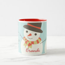 Custom Kids Snowman Party Mug