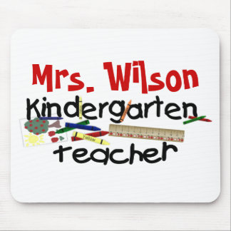 Custom Kindergarten Teacher Mouse Pad
