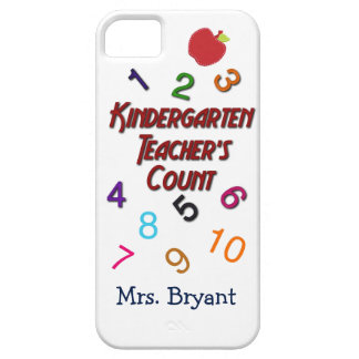 Custom Kindergarten Teachers Count Phone Cases