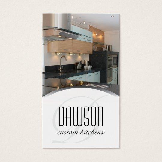 Custom Kitchen Designer Business Card