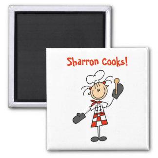 Custom Kitchen Gift 2 Inch Square Magnet