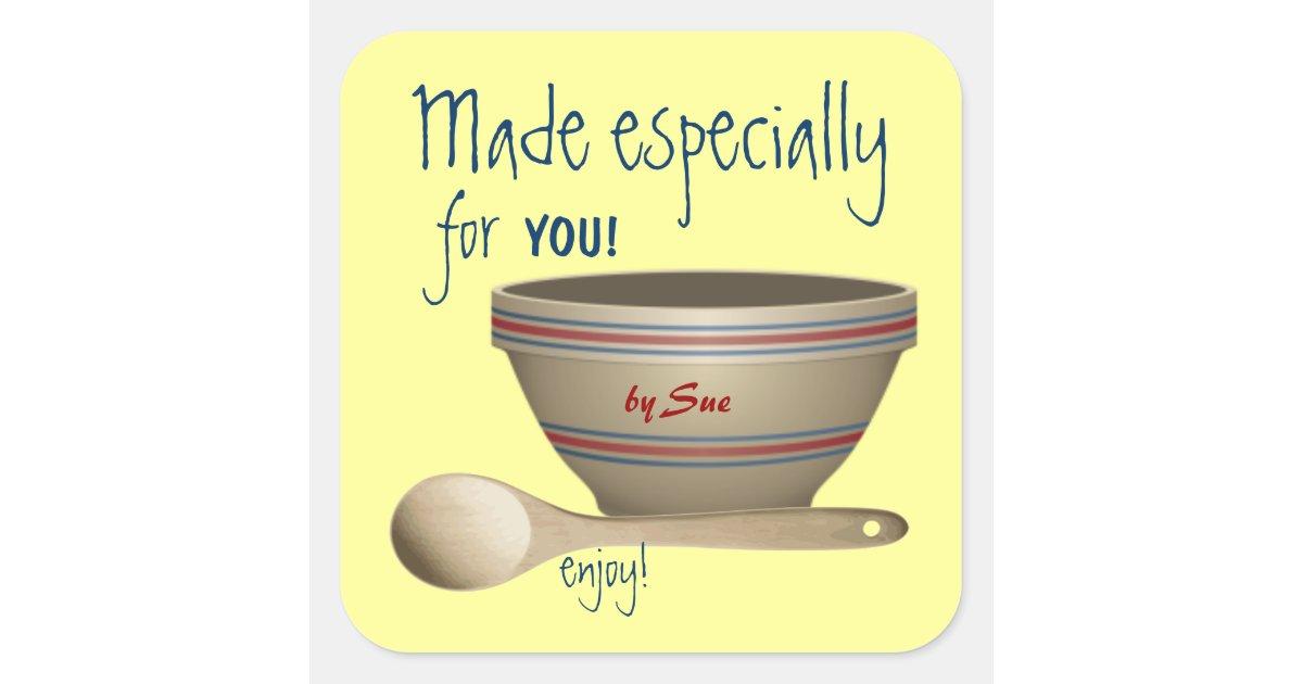 Custom Kitchen Gift Stickers Zazzle