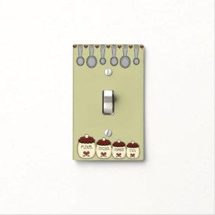 Custom Kitchen Light Switch Cover