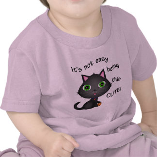 Custom Kitty Cat Cartoon T-Shirt