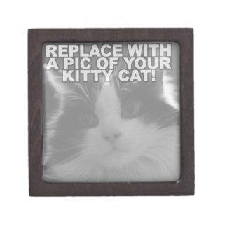 Custom Kitty Cat Premium Jewelry Boxes