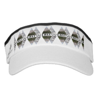 Custom Knit Visor, White EAST COAST Visor