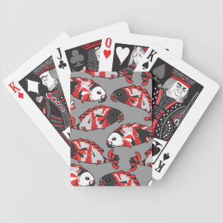 Custom Koi Fish Playing Cards in Traditional Color