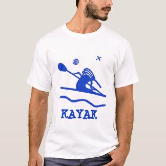 Custom Kokopelli Kayak T-Shirt