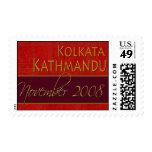 Custom Kolkata / Kathmandu Postage