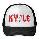 custom KYLE comic logo shirt Mesh Hat