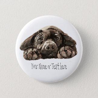 Custom Labrador Retriever - Dog Collection Button