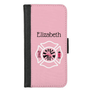 Custom Lady Firefighter iPhone 8/7 Wallet Case