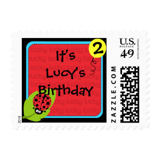 Custom Ladybug Postage Stamps
