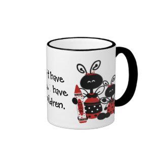 Custom Ladybug Teacher Mug