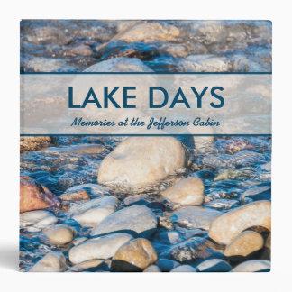 Custom Lake House Memories Book 3 Ring Binder