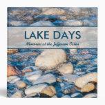 Custom Lake House Memories Book Vinyl Binder