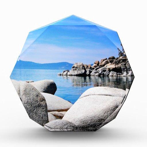 Custom Lake Tahoe Sand Harbor Photograph Award