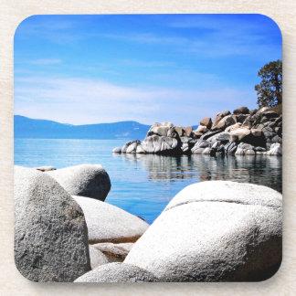 Custom Lake Tahoe Sand Harbor Photograph Coaster