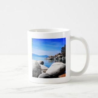 Custom Lake Tahoe Sand Harbor Photograph Coffee Mug