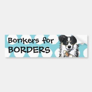 Custom Lamb Lover Border Collie Bumper Sticker