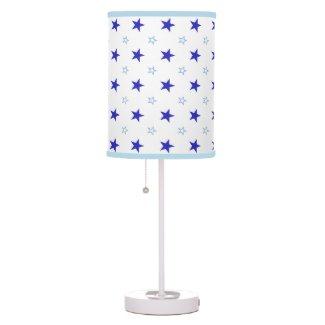 Custom Lamp With Stars