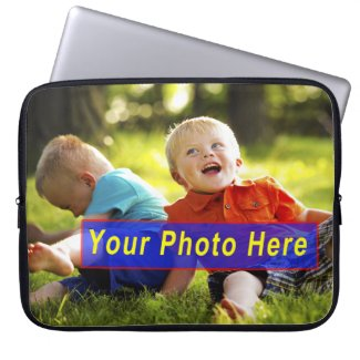 Custom Laptop Cases with YOUR PHOTO