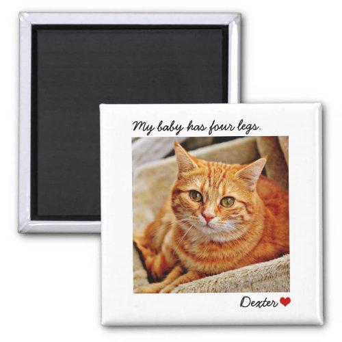 Custom Large Photo Personalized Pet Magnet