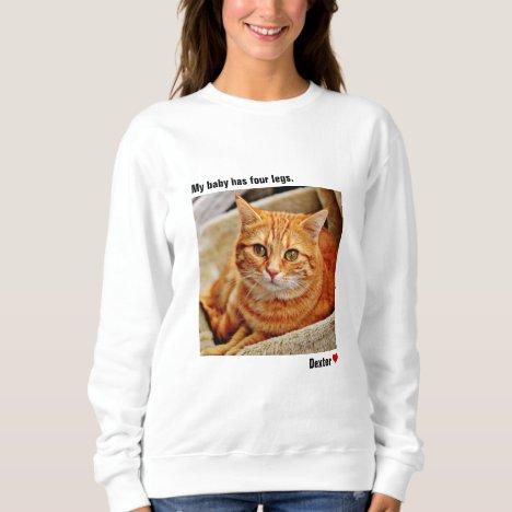 Custom Large Photo Personalized Pet Sweatshirt