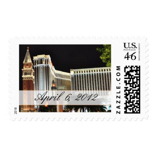 Custom Las Vegas Postage stamp