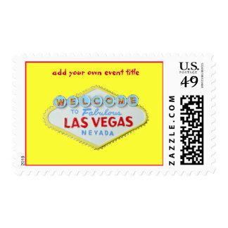 Custom Las Vegas Special Event Postage