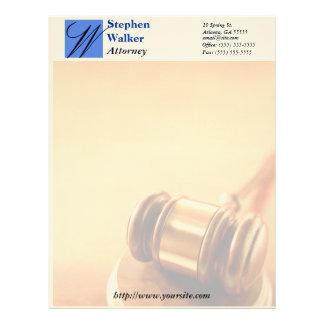 letterhead lawyer